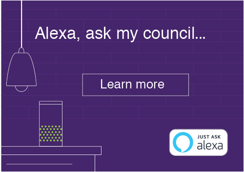Alexa, ask my council...